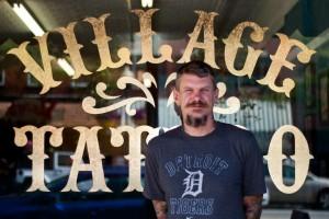 Village Tattoo Front Garth Hixon